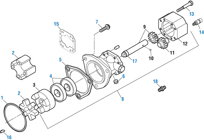 Fuel Pump Check Valve For Detroit Series 60  Pai  645051